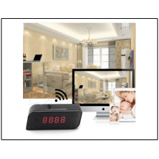 Action India - Spy Wifi Table Clock Camera