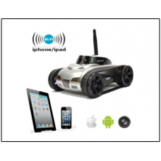 Action India - Spy Wifi Tank Car Toy With Camera Remote Control By Iphone Android